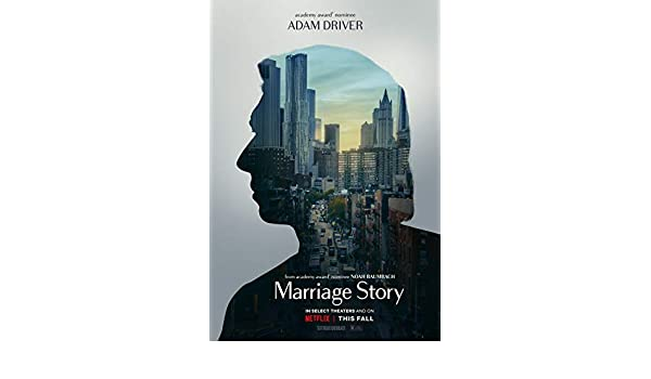 printdesign Marriage Story - Movie Poster Wall Decor Cartel ...