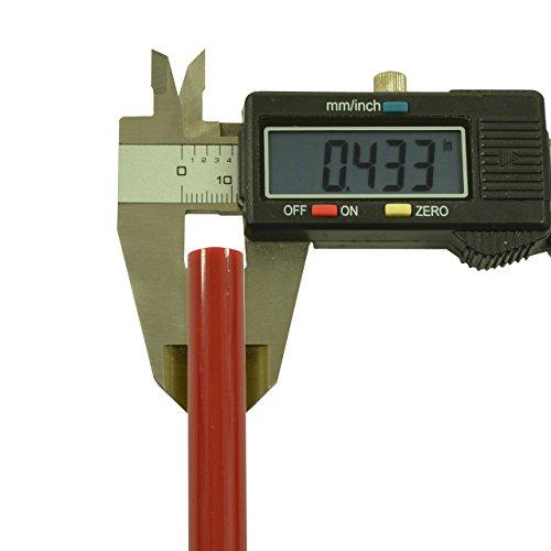 Red Colored Glue Sticks 7/16'' X 4'' 5 lbs by GlueSticksDirect.com (Image #2)