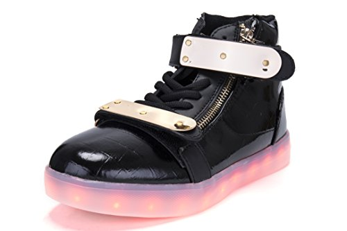 Galleon - Light Up Shoes Hoverkicks Womens Orion (Black) With Remote  Control For Led Sneakers (Youth 3 3359d8a31a
