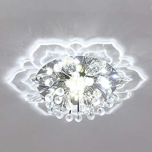 Moderne elegante kristallen kroonluchter verlichting 7,87 (diameter) x 1,96 (hoogte) Moderne LED-plafondlamp voor…