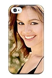 Tpu Fashionable Design Rachel Bilson Happiness Rugged Case Cover For Iphone 4/4s New