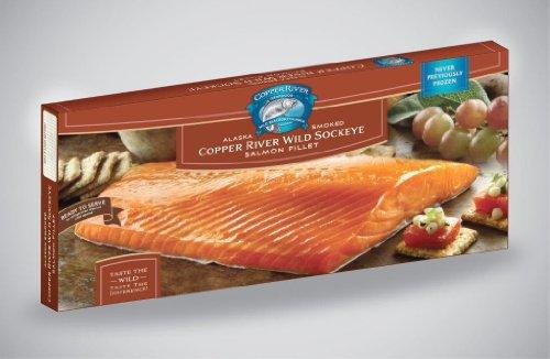 2 - 16oz Smoked Copper River Sockeye Salmon Fillets