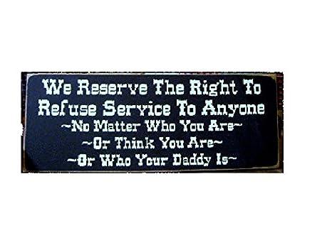 Amazon.com: Ruskin352 Nos reservamos el derecho a negar el ...