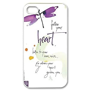 Dragonfly Original New Print DIY Phone Case for Iphone 4,4S,personalized case cover ygtg630464