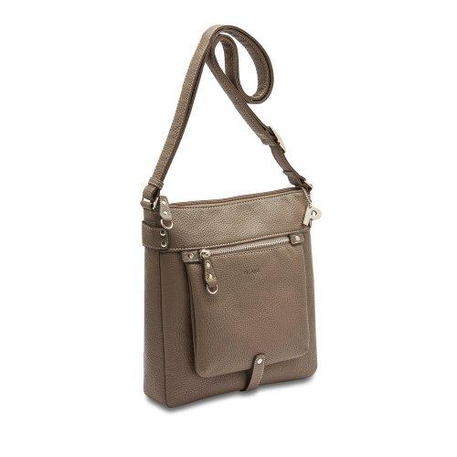 Picard Loire taupe 9808 , Damen Umhängetasche Schultertasche Tasche