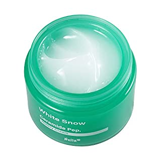 Nella Watery Cream, Ceramide and Peptide, Moisturizing and Anti-Wrinkle, Korean Skin Care, 55 g