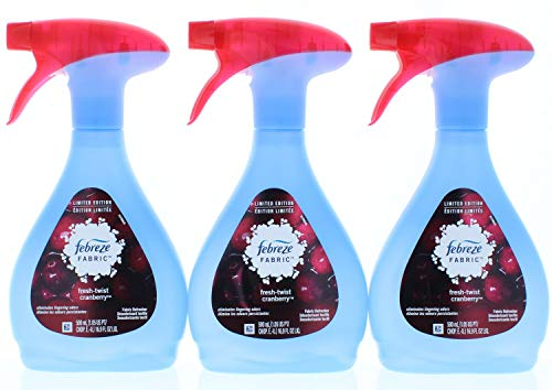 3 Pk. Febreze Twist Cranberry Fabric Refresher 16.9 Fl. Oz (50.7 Fl. Oz Total)