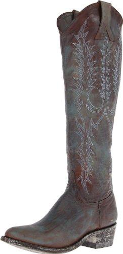 Der Mayra-Stiefel der alten Gringo Frauen Messing 2