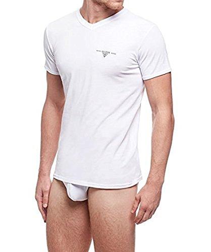 Guess T-Shirts Jel 13 (XXL, Weiß)