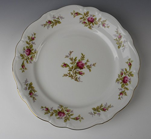Johann Haviland China MOSS ROSE (Bavarian) Dinner Plate(s) EXCELLENT (Patterns China Bavarian)