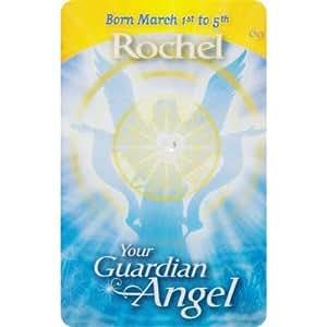 Guardian Angels Wallet Card English Rochel (each)