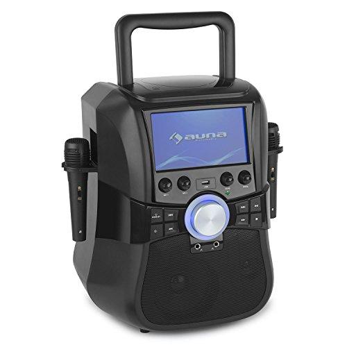 auna Stage Hero mobil Karaoke-Anlage mit CD-DVD-Player USB-Port Bluetooth 7