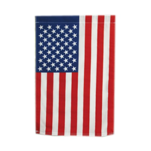 Valley Forge, American Flag, Cotton, 12'' x 18'', Sewn United States Garden Flag by Valley Forge