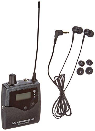 Wireless Ear Receiver (Sennheiser Ek 300Iem G3 - Diversity Bodypack Receiver with IE4 Ear Buds For Wireless Monitoring - A Range (516-558 Mhz))