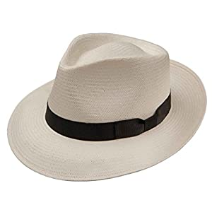 Stetson Mens Shantung Banded Straw Hat
