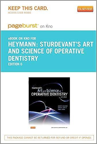 Sturdevant Operative Dentistry Ebook