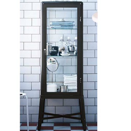 New Ikea Glass Door Cabinet Decorating Ideas