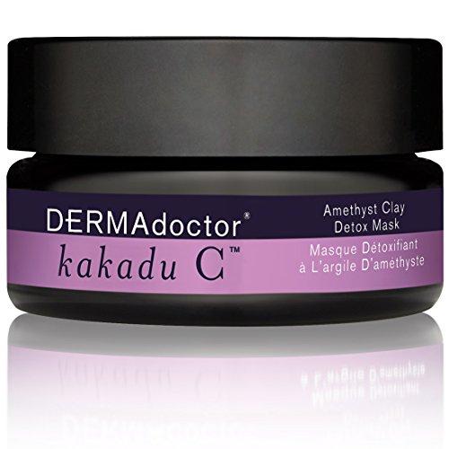 DERMAdoctor Kakadu C Amethyst Clay Detox Mask, 1.7 oz.