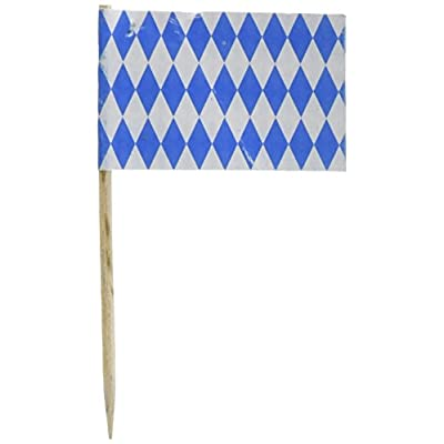 Oktoberfest Picks Party Accessory (1 count) (50/Pkg): Childrens Party Decorations: Cocktail Picks