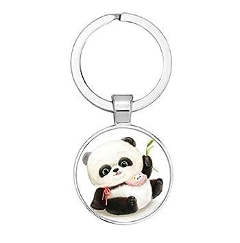 Oso Panda de peluche llavero - oso Panda llavero ...