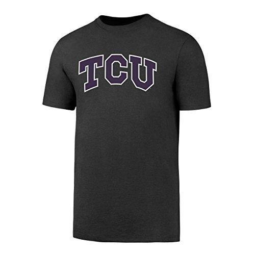 NCAA Tcu Horned Frogs Men's OTS Rival Tee, Charcoal, Medium -