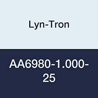 Lyn-Tron Hex Standoff, Aluminum, Male-Female, #4-40 Screw Size, 0.25-Inch Width, 1-Inch Body Length (Pack of 10)