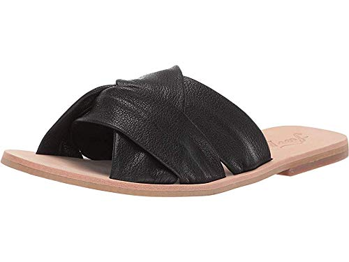 Free People Women's Rio Vista Slide Sandal Black 38 M EU