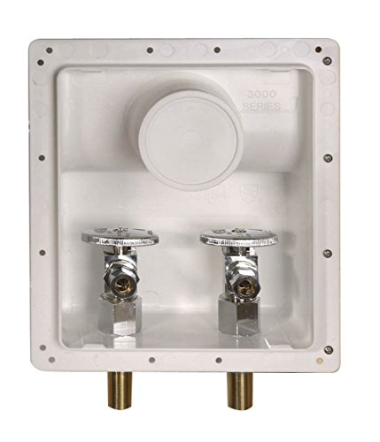 Water-Tite 87826 Lead-Free Angle Stop Connection Boxes with 3/8