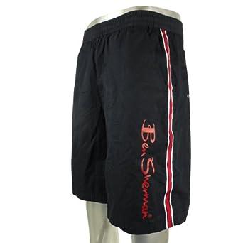 8d5691344e Mens Ben Sherman Mod target Swim Shorts Navy Red Smart Holiday Size XL:  Amazon.co.uk: Clothing