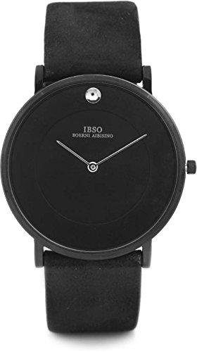 Ibso Analog Black Dial Men #39;s Watch   B2222Gbk