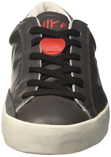 Ishikawa Sneaker a Collo Low Unisex Basso Grigio Adulto xwaxRpr