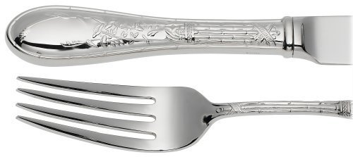 - Ricci Japanese Bird and Bamboo 5-Piece Stainless-Steel Flatware Place Setting, Service for 1 by Ricci Silversmiths