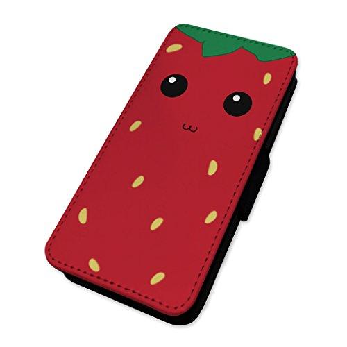 Adorabile Funky fragola–Custodia ad aletta in pelle copertura di carta Apple Iphone 5/5s/SE
