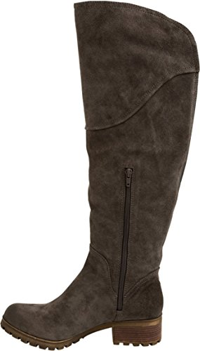 Nuove Donne Fortunate Harleen Tall Boot Soft Storm In Gomma