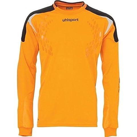 Uhlsport Torwart Tech Long Sleeve Soccer Goalie Jersey - Orange-XL