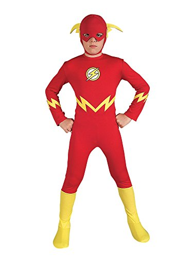 Justice League The Flash Child Costume Size: (Child Flash Costume)