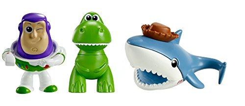 (Toy Story Disney/Pixar Minis Buzz Sharky & Rex Figure (3 Pack),)