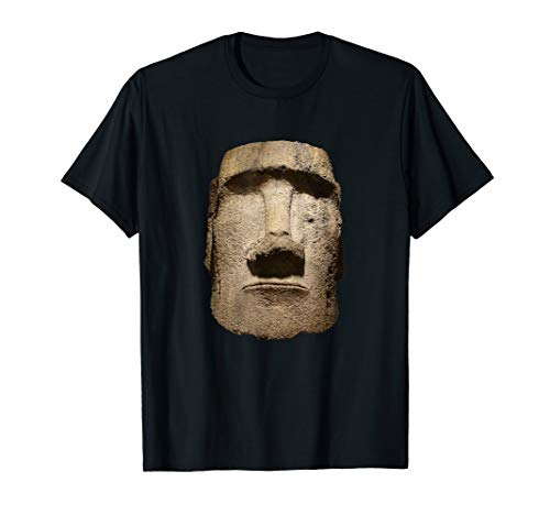 Easter Island Moai Statue Monolith World Mystery T-Shirt ()