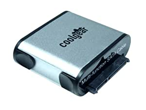 CoolGear® USB 3.0 to SATA Hard Drive Adapter for 2.5/3.5/SSD Drives