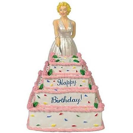 Surprising Marilyn Monroe Birthday Cake Wind Up Musical Figurine Amazon Co Personalised Birthday Cards Paralily Jamesorg
