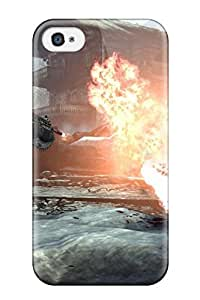 Fashion Tpu Case For Iphone 4/4s- Gears Of War Video Game Other Defender Case Cover
