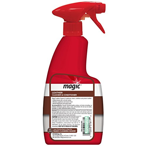 free shipping magic leather cleaner conditioner 14 fl oz 11street malaysia interior care. Black Bedroom Furniture Sets. Home Design Ideas