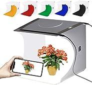 GLURIZ Estudio fotografico portatil, Caja de Luz para Estudio Fotográfico, Kit para Fotografía de Producto con