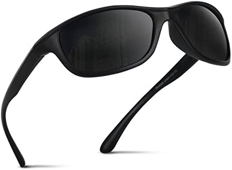 Occffy Polarisierte Sportbrille Sonnenbrille Fahrradbrille mit UV400 Schutz für Herren Autofahren Laufen Radfahren Angeln Golf TR54
