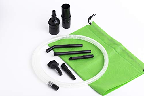 2 Piece Universal Fit Car - Green Label Micro Vacuum Attachment Kit - 7 Piece