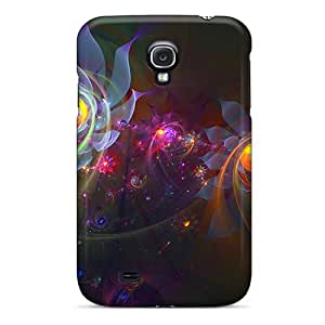 Tpu Fashionable Design Flowers Rugged Case Cover For Galaxy S4 New