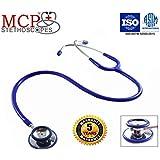 MCP Dual Head Stethoscope Adult (Blue)
