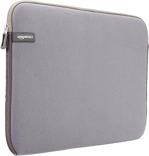 Amazon Basics 15-Inch to 15.6-Inch Laptop Sleeve – Grey
