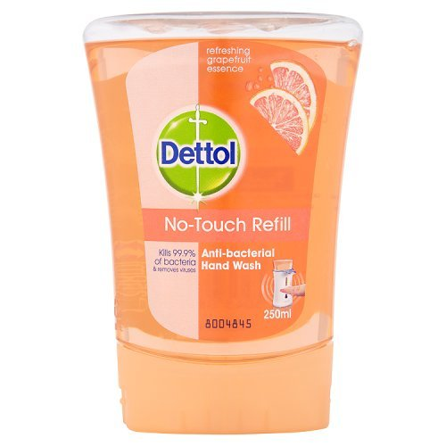 Dettol No-Touch Refill Anti-Bacterial Hand Wash, 250 ml - Grapefruit (packaging may vary)