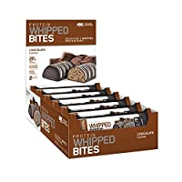 Optimum Nutrition Protein Whipped Bites made with Whey Protein Isolate, Whipped Protein Bars with 20g High Protein and no added sugars Chocolate 12 bars